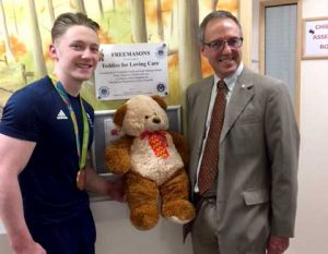 Nile Wilson olympic gymnast supports TLC